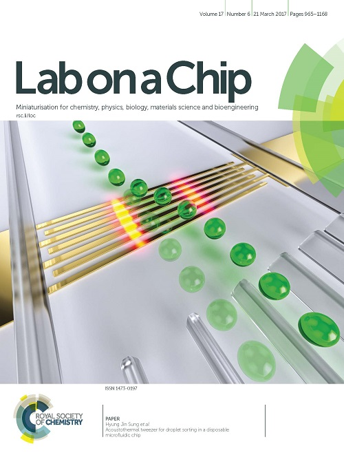 Lab on a Chip 표지 이미지