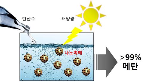 송현준 교수, 이산화탄소를 99% 순수연료로 바꾸는 광촉매 개발 이미지2