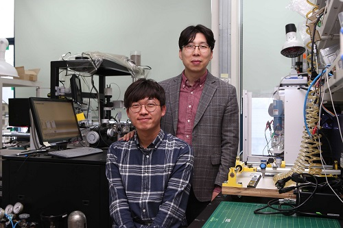 from top: Professor Yeon Sik Jung and PhD candidate Soomin Yim