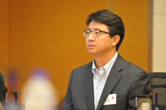 Professor Wonjoon Kim from the School of Business and Technology Management