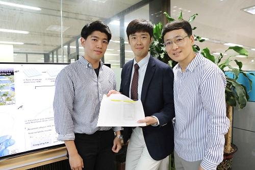 유재영 박사과정, 서민호 박사, 윤준보 교수
