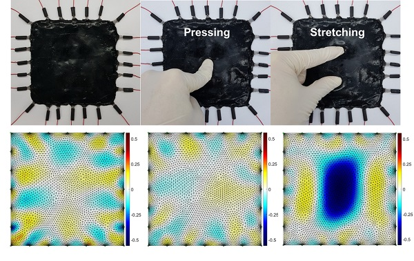 Spray Coated Tactile Sensor on a 3-D Surface for Robotic Skin 이미지2