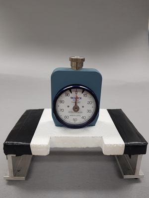 Figure 2. The instrument used for measuring human thermal status through skin hardness