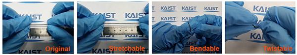 Stretchable Multi-functional Fiber for Energy Harvesting and Strain Sensing 이미지1