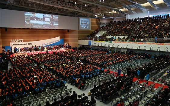 (KAIST 2019 Commencement Ceremony)