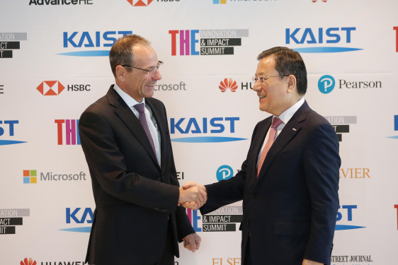 KAIST-THE Innovation & Impact Summit Touts New Roles of Higher Education 이미지1