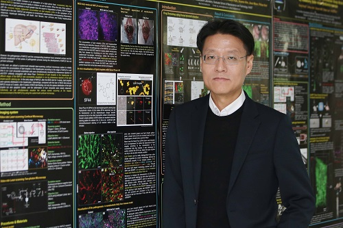 Professor Pilhan Kim from the Graduate School of Medical Science and Engineering