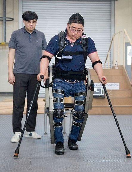 Wearable Robot 'WalkON Suit' Off to Cybathlon 2020 이미지1