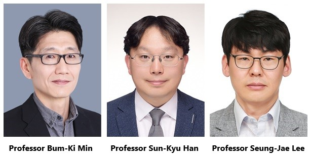 Three Awardees of Han Sung Science Awards