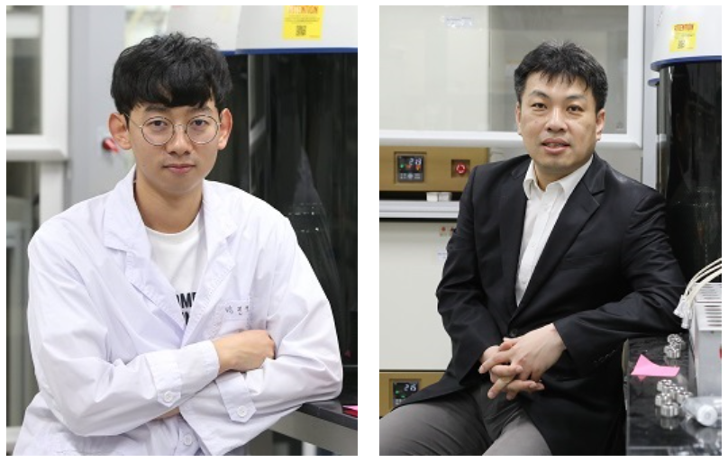 PhD Candidate Jinkyu Park and Professor Jinwoo Lee