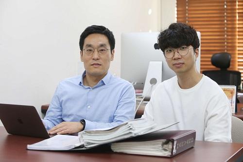 신병하 교수, 배성열 박사과정