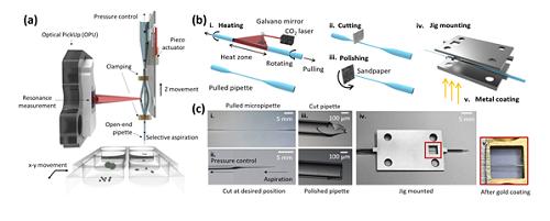 미세 입자 질량 측정용 파이펫 형태 공진기 개발 이미지3