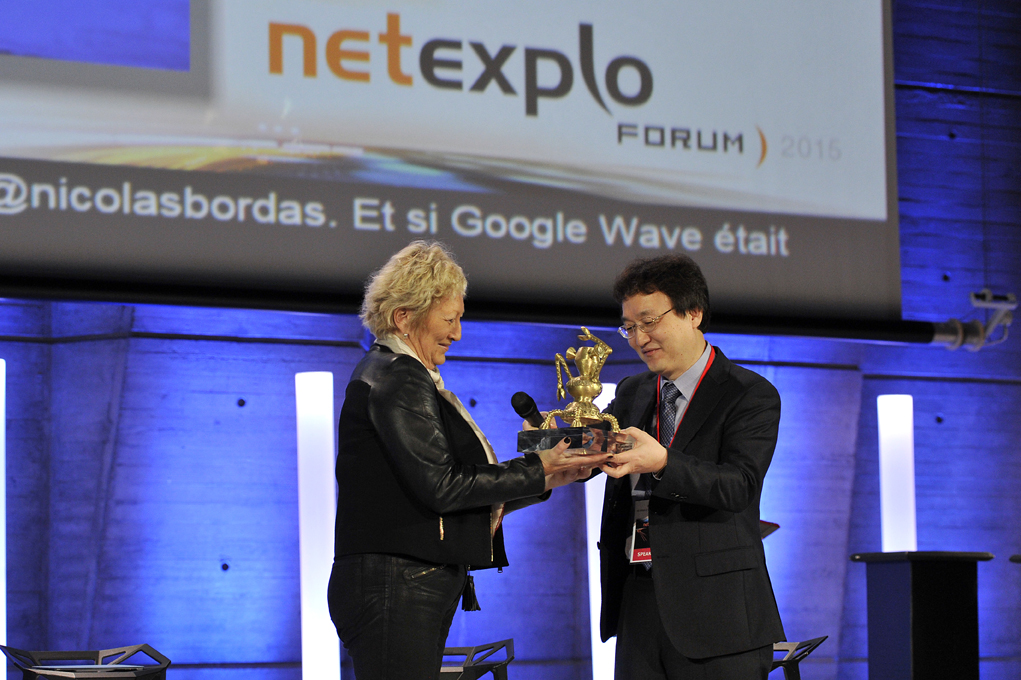 KAIST's Thermoelectric Generator on Glass Fabric Receives the Grand Prize at the Netexplo Forum 2015 이미지3